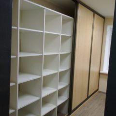 Шкафы-купе кабинет архив вид 6