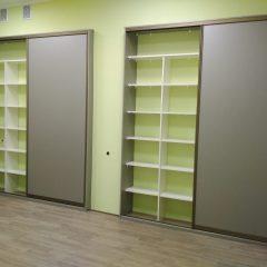 Шкафы-купе кабинет бухгалтерия вид 5