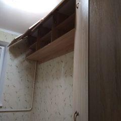 Угловой шкаф с антресолью. Вид 4