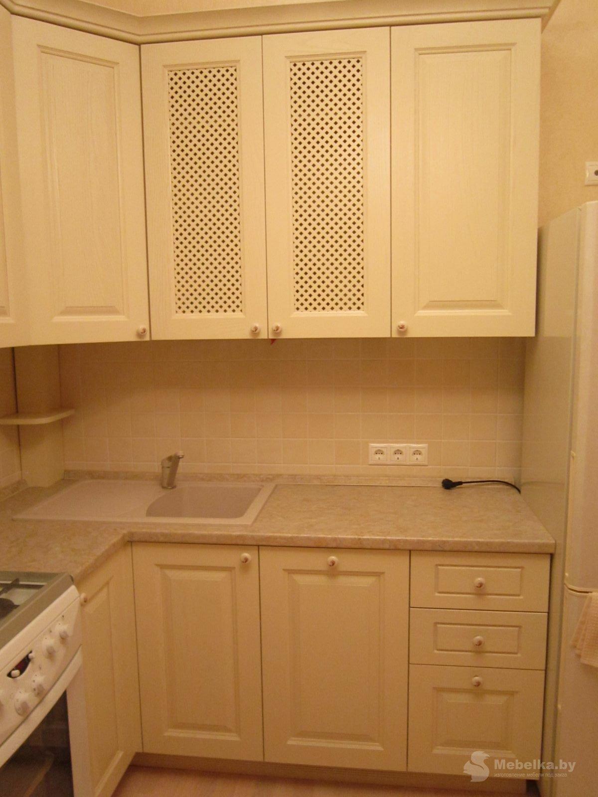 Классическая угловая кухня, второй вид