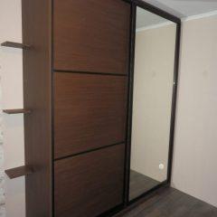 Шкаф-купе с одной зеркальной дверью вид 1