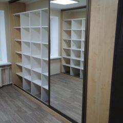 Шкафы-купе кабинет архив вид 2