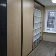 Шкафы-купе кабинет архив вид 5