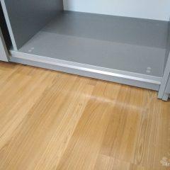 Шкаф-купе со стеллажем. Подвесная система (скрытые направляющие) (4)