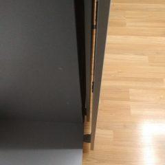 Шкаф-купе со стеллажем. Подвесная система (скрытые направляющие) (6)