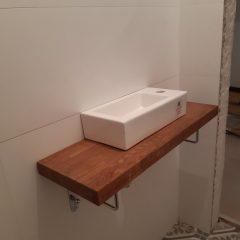 Шкафчик в санузел с люком для комуникаций (4)