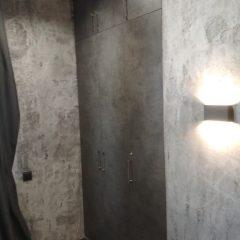 Встроенный шкаф Бетон Чикаго темно-серый (4)