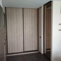 Встроенный шкаф в гостинной (3)