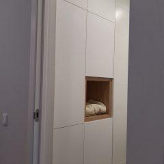 Встроенный шкаф в ванной (3)