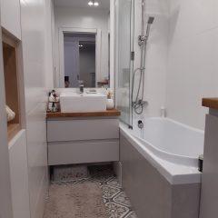 Встроенный шкаф в ванной (6)